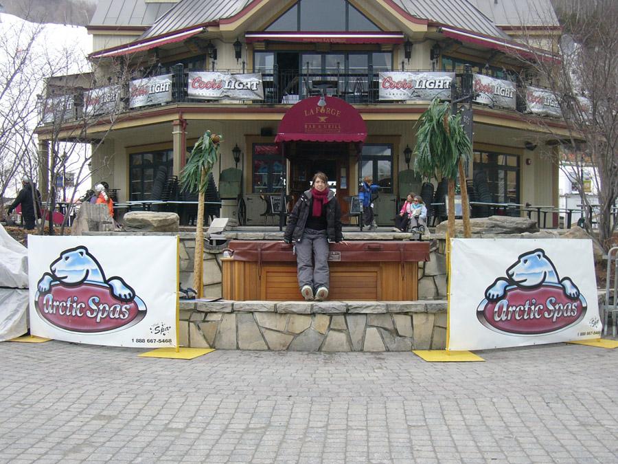 Telus Spin 2005 au Mont Tremblant