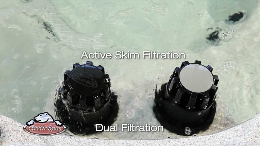 Système de filtration ActiveSkimd'écume